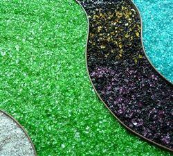 Tumbled Landscape & Firepit Glass, Assorted Color Options, 25 lb bag
