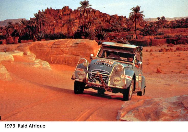 1973 Raid Afrique