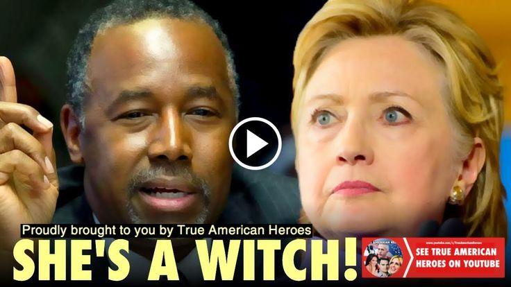 Ben Carson DESTROYS Hillary Clinton And Drops Video She Can't Explain