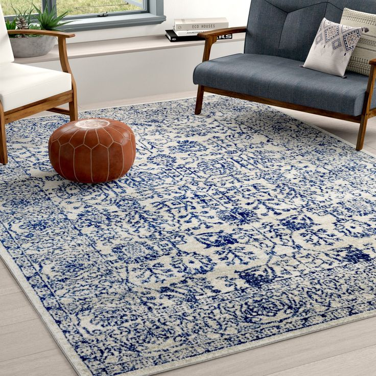 Hillsby Navy Area Rug In 2019 Rugs Area Rugs Blue Area