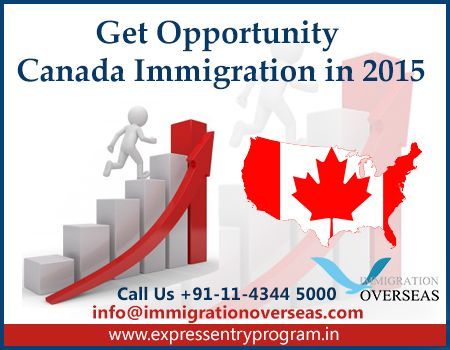 Get Opportunity #Canada #Immigration in 2015 Under Express Entry Program Canada is an affluent country, that welcomes migrants  from every corner of the world. The Maple leaf country where life in abundance awaits for the prospects candidates who are exceptionally talented and skilled in a particular sector. #expressentry