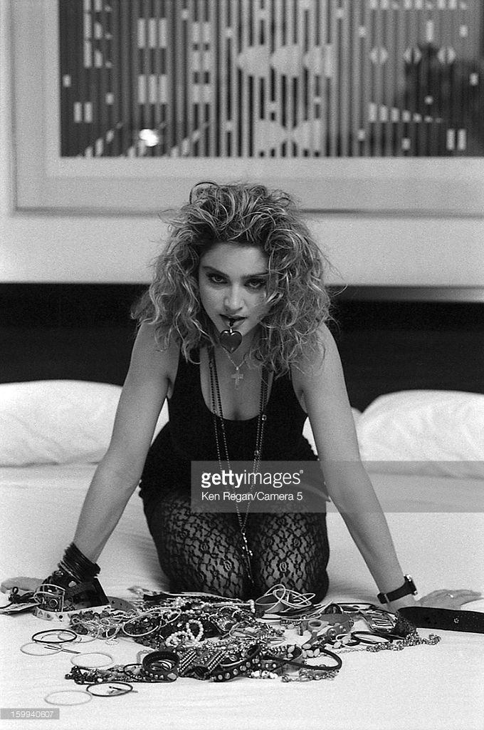 News Photo : Singer Madonna is photographed for People...