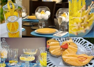 candy bar, ducky cookie favors