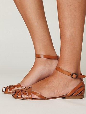 Lex leather sandals
