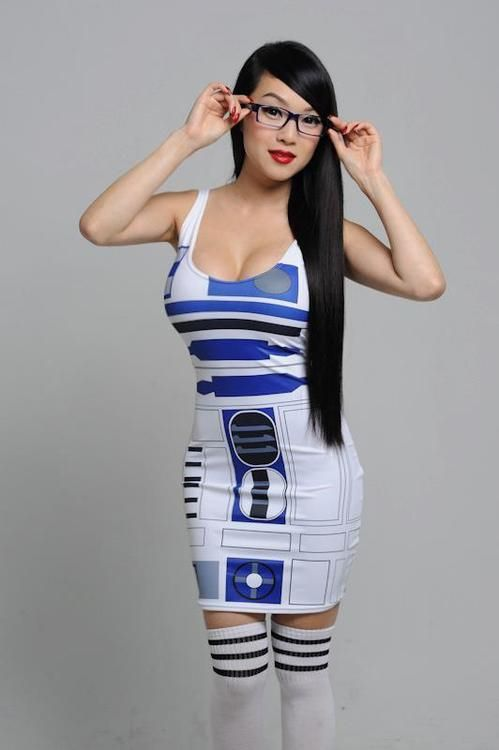 Unique Home  Products  Costumes  R2D2 Dress  Womens Costume