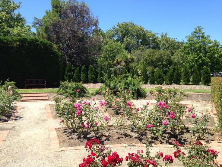 Rose Garden Blessington Street St Kilda Botanical Gardens