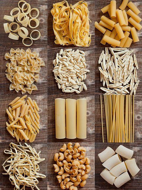 Pasta type collection - photo