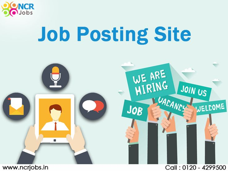 Job searching becomes more easy with the help of #JobPostingSite. Job seekers can register themselves and find the job according to their interest and qualification. They can find the multiple results so that they can choose one of the best jobs among all of them. See more @ http://ncrjobs.in/ #NCRJobs #JobSite #JobPortal