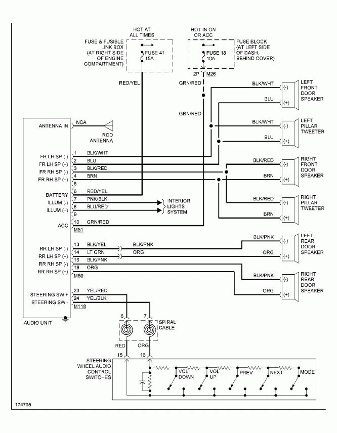 1993 Geo Prizm Radio Wiring Diagram
