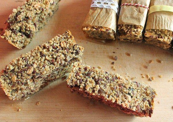 Suikervrije Quinoa Havermout repen | De Bakparade