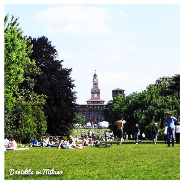 Parco Sempione en Milano