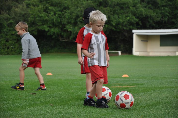 Little Kickers - Wednesday morning with Sebastian, Nicholas and Seth at St. Andrews Pre Primary, Grahamstown, South Africa!