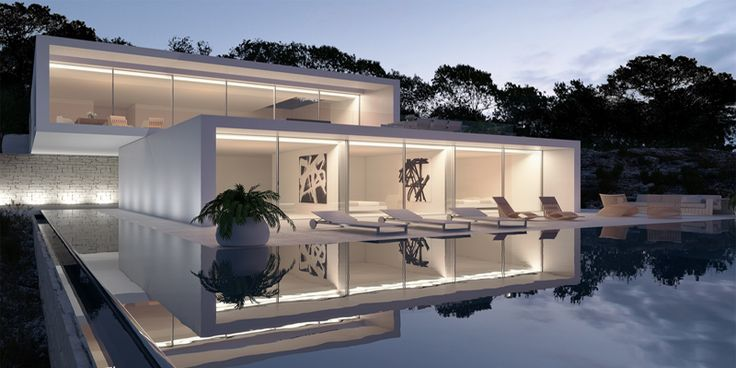 1000 Images About Modern Glass House On Pinterest
