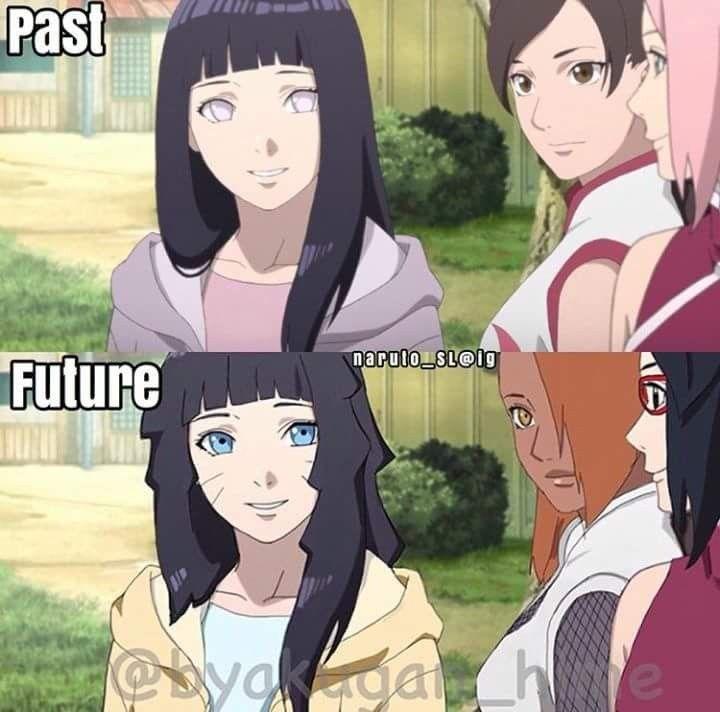 Past and Future  Himawari, ChoCho and Sarada or Hinata, TenTen and Sakura ❤️❤️❤️