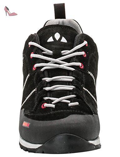 VAUDE Exire Advanced Rc, Chaussures de Vélo de Route Mixte Adulte, Noir (Black/silver), 47 EU