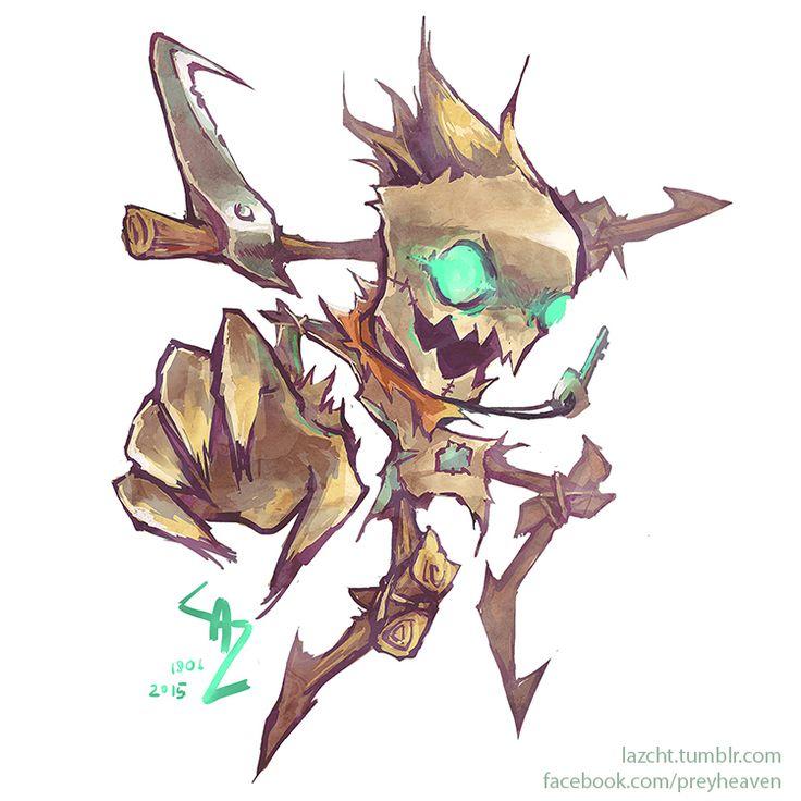 League of Legends: Fiddlesticks by Lazcht.deviantart.com on @DeviantArt