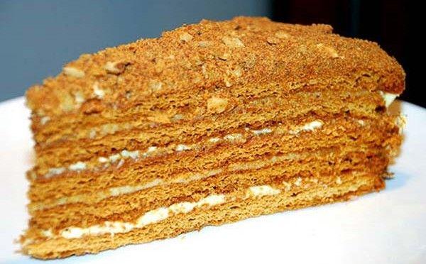Торт Медовик классическиц