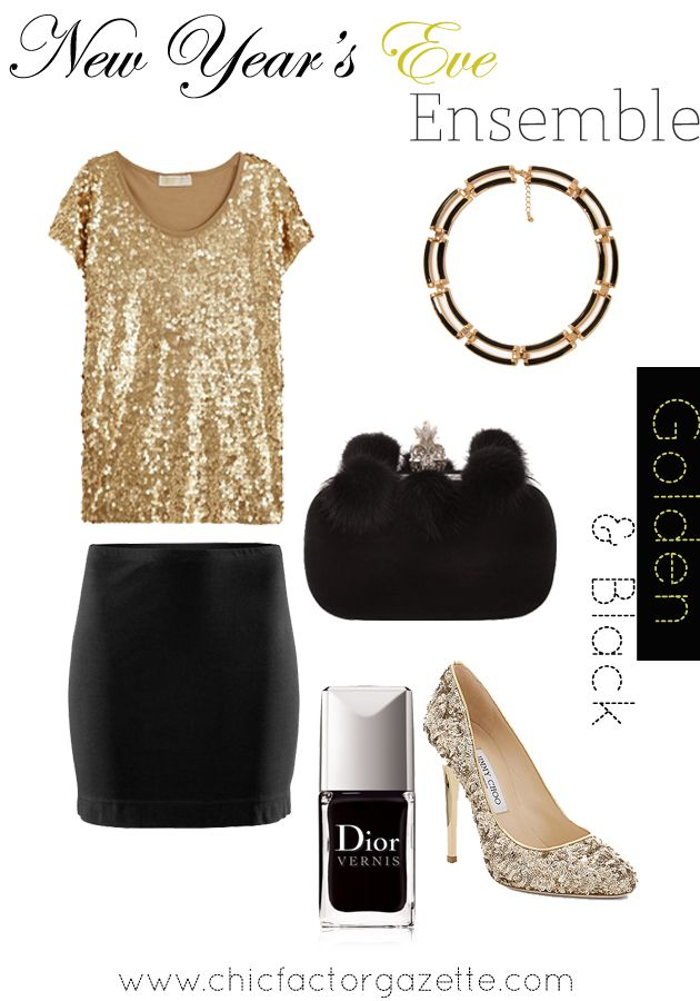 New Year's Eve is gone but we can party nevertheless. #PartyOutfits chicfactorgazette.com