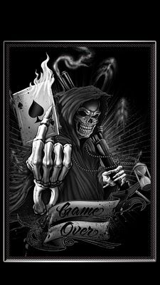 19 best ace of spades images on pinterest decks playing cards wallpapers 360x640 skull death voltagebd Images