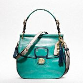 colorblock new willis by coach in b4/grass/cerulean: Leather Colorblock, Coach Pur, Coach Bags, Style, Handbags, Coach Willis, Willis Bags, Coaches, Purses