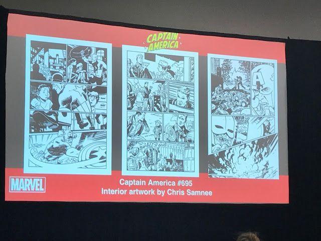 The Comics Ticker: SDCC '17: Mark Waid and Chris Samnee on Captain Am...