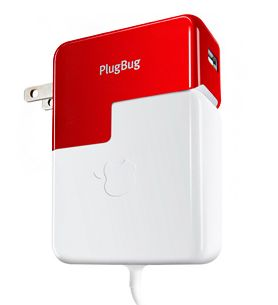 Plugbug--charges both your laptop and your iPhone/iPad with one outlet.