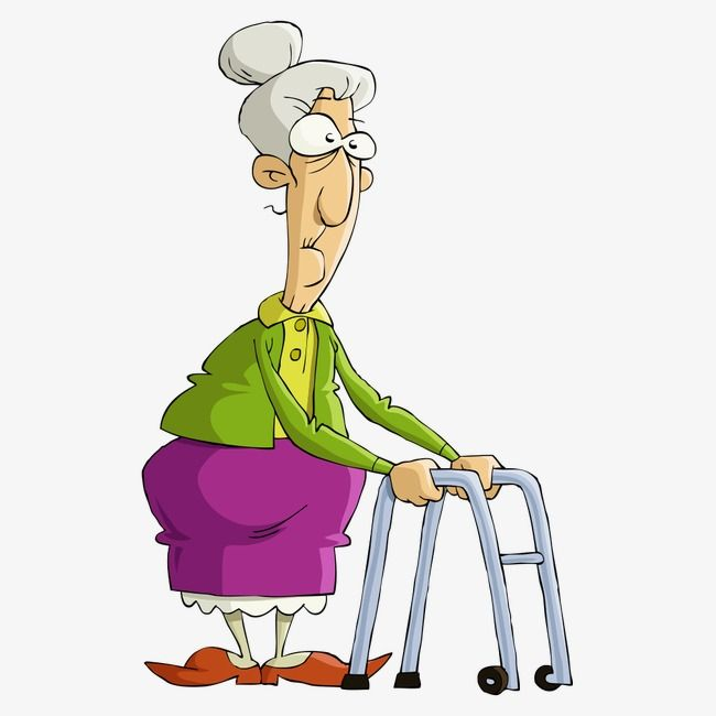 Vector Old Lady, Vector Character, Cartoon Characters, People ...