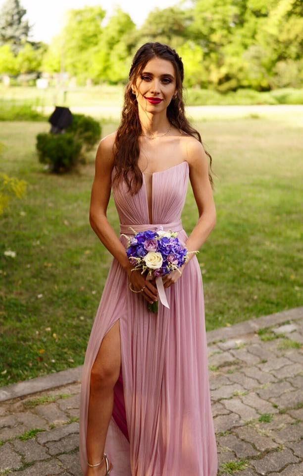 CRISTALLINI #EveninglDress #ZinkDress #Silk #WomensFashion #Style #Inspiration #Fashion #Glamour #Elegance #StyleInspiration