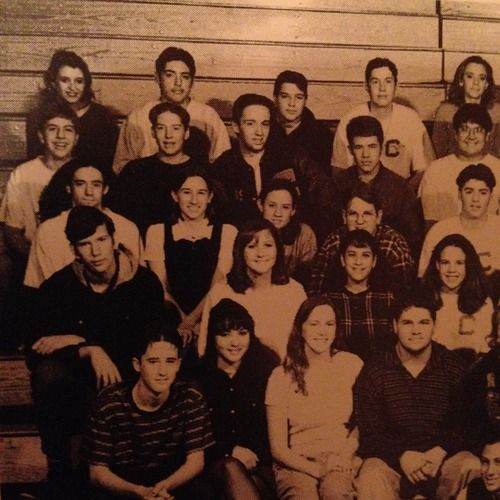 The Columbine High School 1997 Forensics Club. Pictured