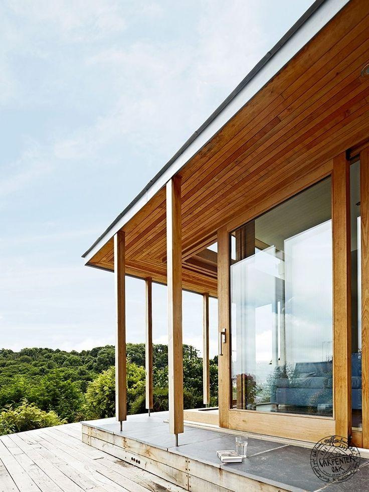 17 best images about carpenter oak extensions on pinterest for Sliding glass doors extension