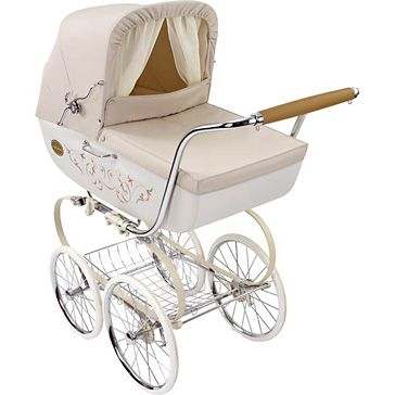 If I didn't need a double stroller, this is what I would be buying for baby Addyson-Inglesina Classica Vanilla Pram/Stroller