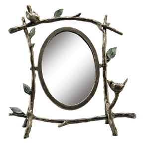 Home Decor Miscellany - Bird & Branch Mirror: Mirror Ii, Birds Branches, Delight Mirror, Mirror Reflection, Birds Singing, Pivot Mirror, Forests Clear, Oval Mirror, Branches Mirror