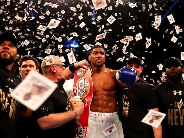 Anthony Joshua signs multi-fight deal with US network Showtime