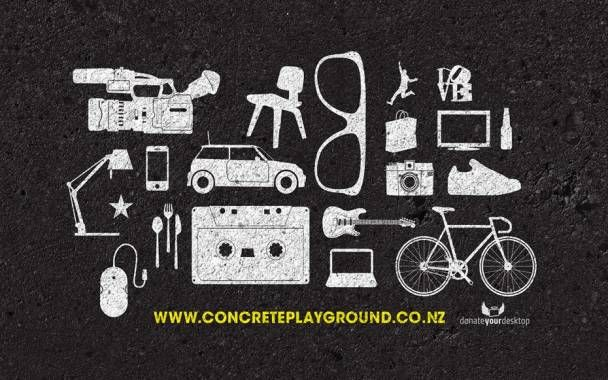 Donate your Desktop | @Concrete Playground