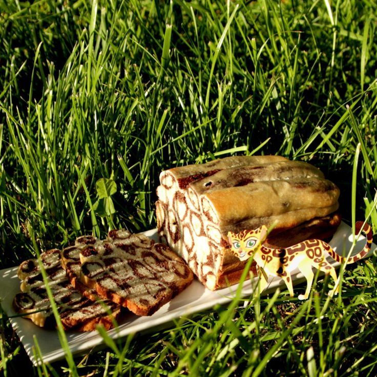 Le Gâteau guépard de Fuli