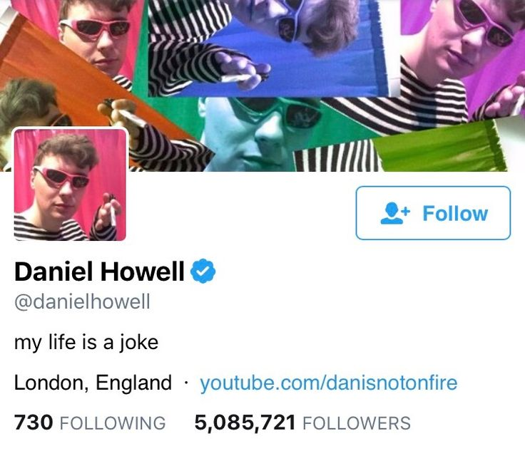 Dan: changed name to Daniel Howell to be more professional Also dan: