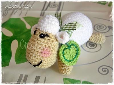 Creazioni Rita C. ... Only Handmade!: La mia dolce Pecorella Amigurumi... Con Link Spiegazioni Gratis/ with link to free pattern