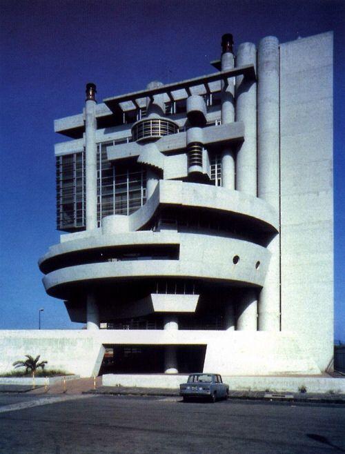 Aldo Rossi, Casa del Portuale, Napoli 1980