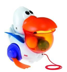 Fisher Price, Pelikan chodziaczek, zabawka interaktywna