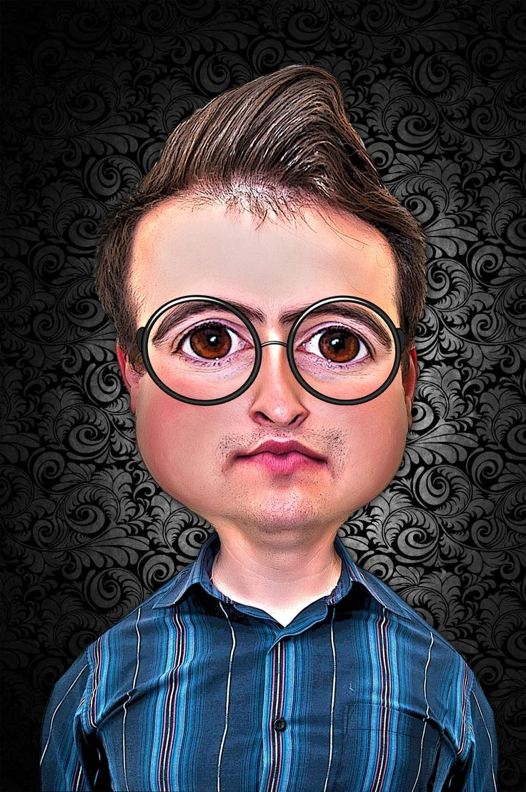 caricature by Radu Muresanu on 500px