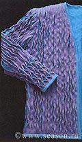 Клуб любителей шитья Сезон - сайт, где Вы можете узнать все о шитье - Рельефная отделка (техника синель)