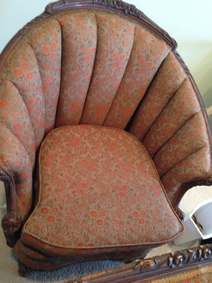 How to upholster a channel back chair Diy furniture