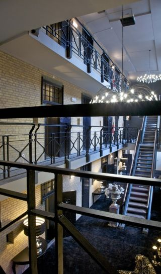 Hotel Huis van Bewaring, Almelo. A former prison converted into a hotel.
