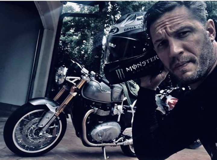 Tom Hardy on a bike? Definitely a panty dropper Fo So! At very least mine! I'm sure I'm not the only1 female or male!
