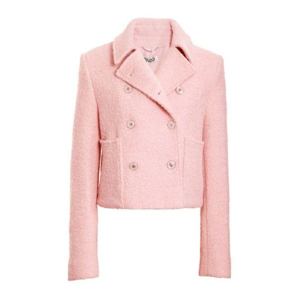 Fall Is Pretty in Pink 17 Rose-Colored Pieces ❤ liked on Polyvore featuring outerwear, jackets and coats