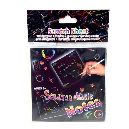 Sihirli Karalama Notları- Scratch Magic Notes Gençliğimizin en eğlenceli oyunlarından olan pastel boyalar ve karakalemler ile yaptığımız rengarenk resim çalışmaları…
