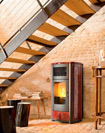 MCZ Suite wood pellet stove
