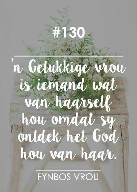 """__[Fynbos Vrou/FB] # 130 #Afrikaans """"'n Gelukkige vrou..."""" #self"""