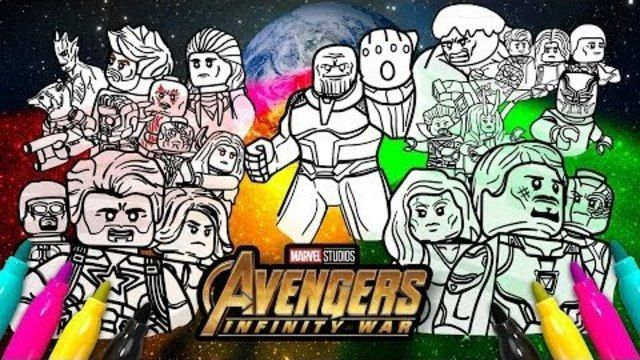 Image Result For Lego Avengers Infinity War Pictures To Color