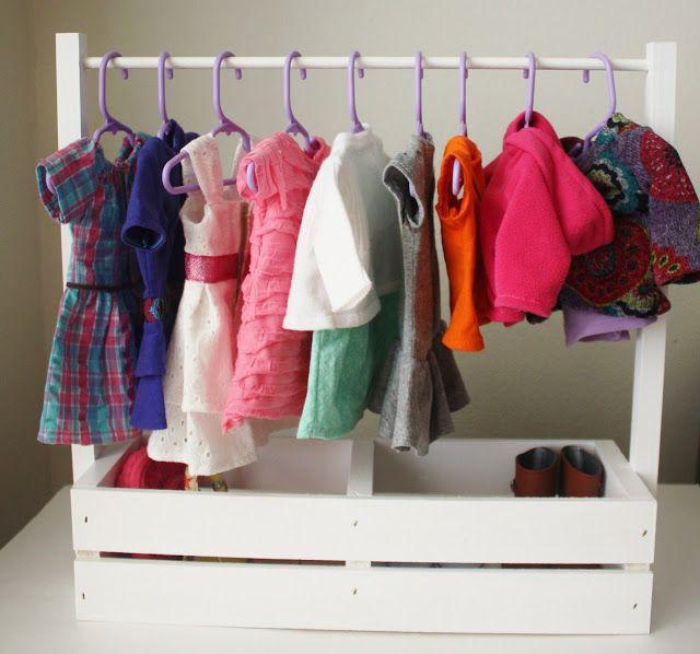 Fabric Cake: DIY American Girl Clothes Rack
